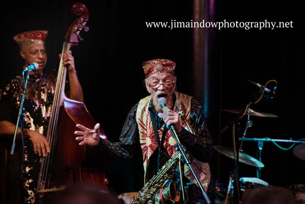 Marshall Allen on vocals & Kash Killion on bass