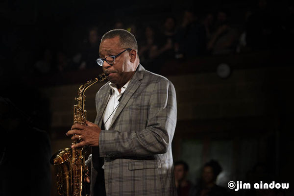 Donald Harrison on alto sax
