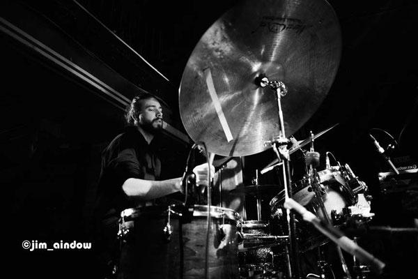 Jake Long on drums with Maisha