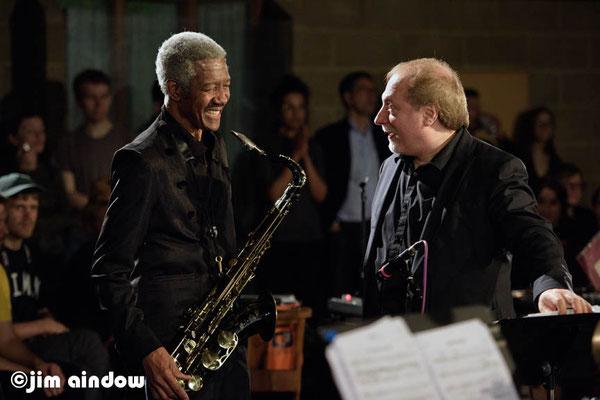 Billy Harper on tenor sax, David Weiss on trumpet