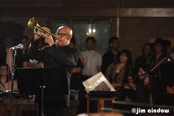 Eddie Henderson on trumpet