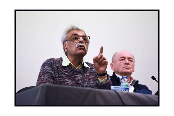 Tariq Ali speaking at at The Russian Revolution  and Global Development. 28.2.17