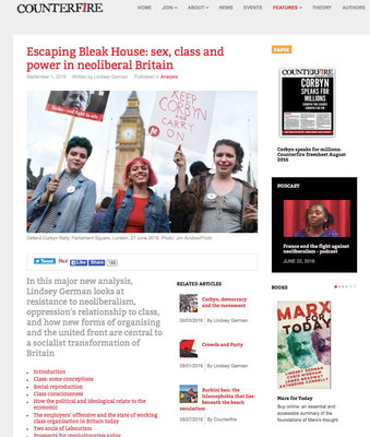 Counterfire : Escaping Bleak House, sex, class & power in neoliberal Britain. 1.9.16