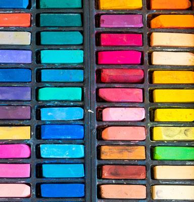 Malen mit Pastellkreiden