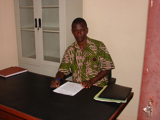 Le Conservateur, Mr do REGO Moudachirou