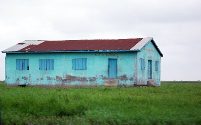 des maisons colorées