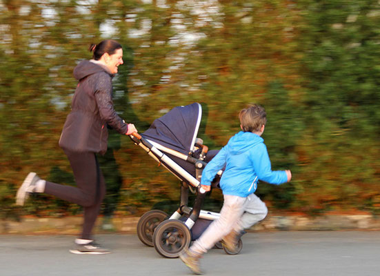 KopffreiFitness - Personaltraining - Joggen mit Kindern