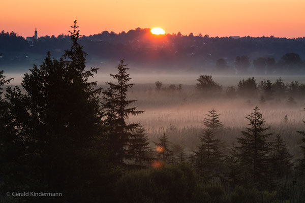 Murnauer Moos - Sonnenaufgang