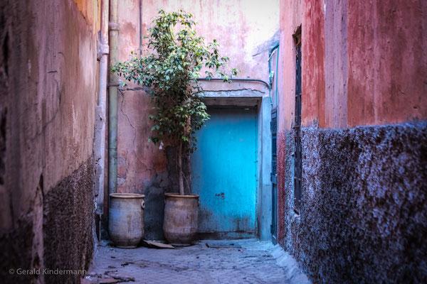 Solche Farben gibt es nur in Marokko
