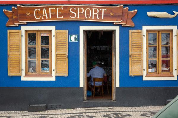 Cafe Peter Sport - seit 100 Jahren der Stop für Atlantiküberquerer