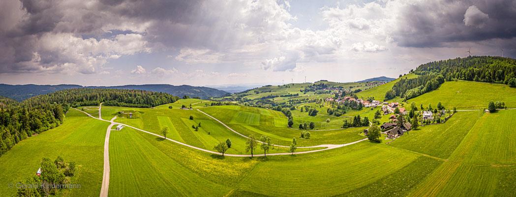 Panorama von Gersbach im Südschwarzwald