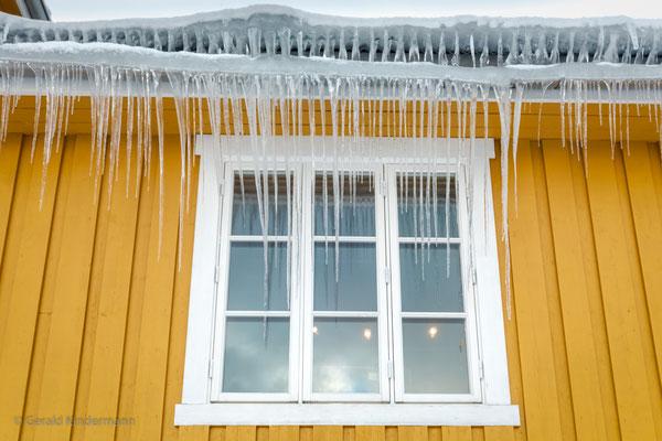 Eiszapfen in Nusfjord