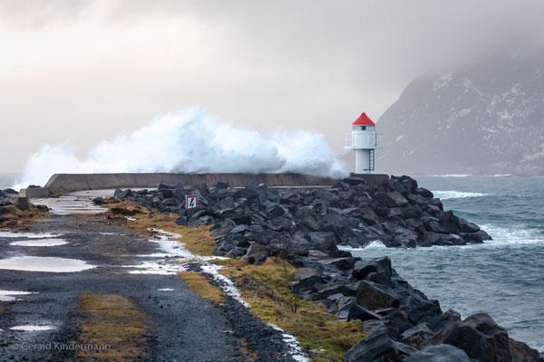...der Sturm hatte Windgeschwindigkeiten von deutlich über 70 km/h