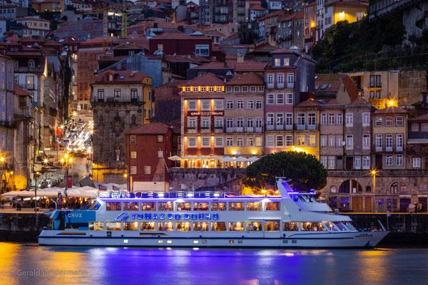 Lichterspiele am Douro