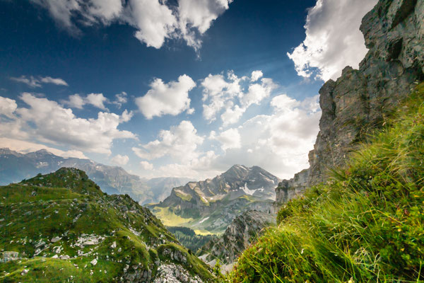 Bergwildnis in Glarus