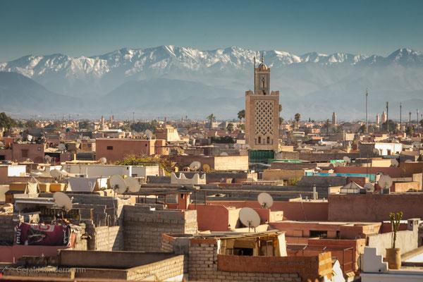 Blick über die Medina