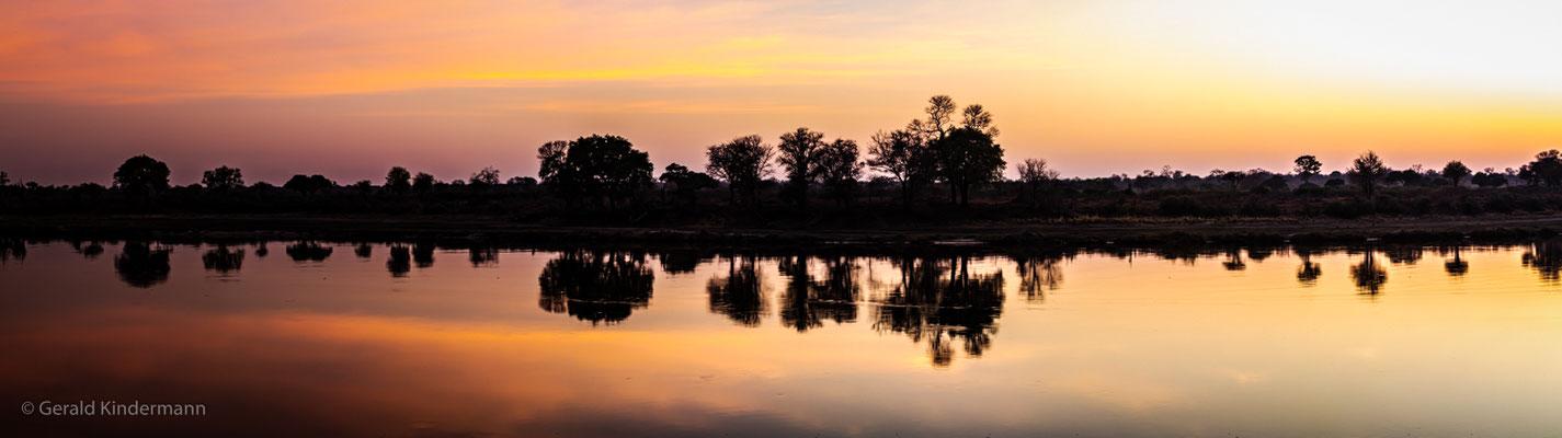 Sonnenaufgang am Cubango