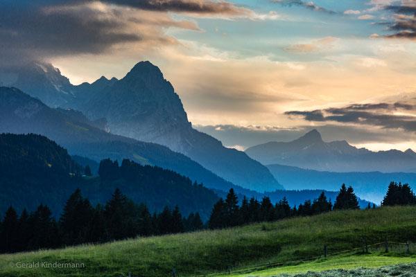 Am Geroldsee Richtung Garmisch