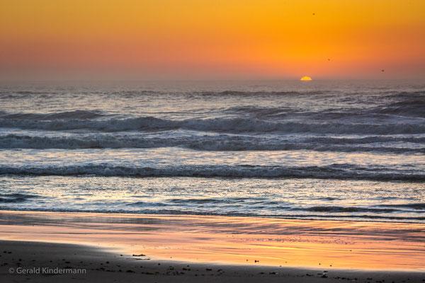 Leça da Palmeira - Sonnenuntergang