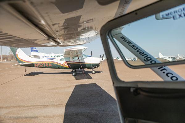 ...unsere Flugzeuge - ein paar Reiseteilnehmern ist so richtig schlecht geworden