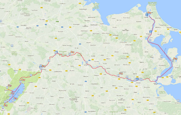Übersichtskarte (Quelle Aqua Sirius: www.aquasirius.de)