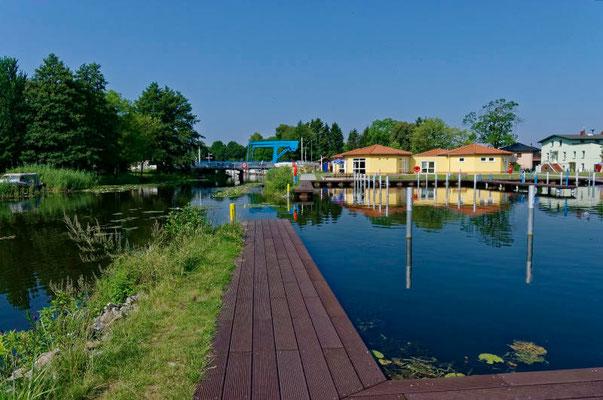 Noch wartet die neue Marina in Liebenwalde auf Gäste.