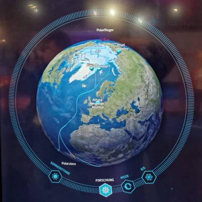 Eine interaktive Eiskarte