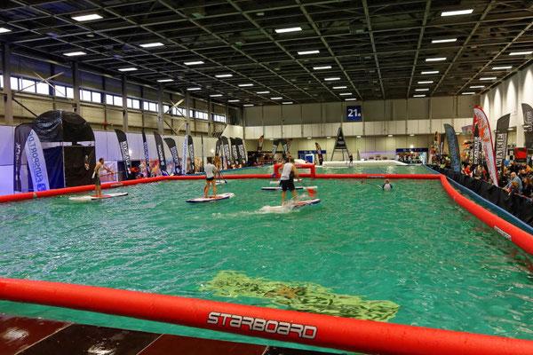 1000 qm Wasserfläche für jede Menge Action und Veranstaltungen
