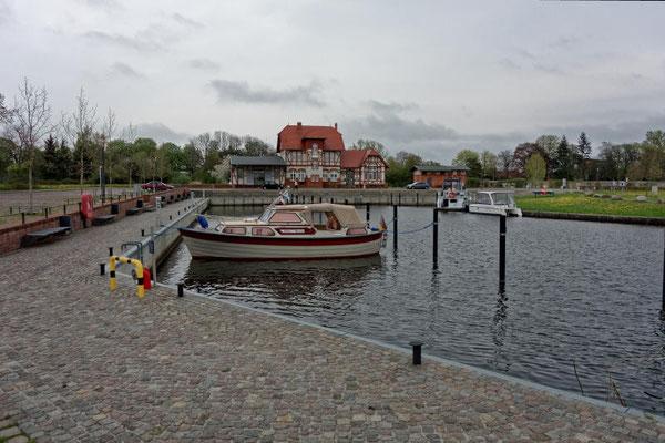 Der Hafen von Loitz