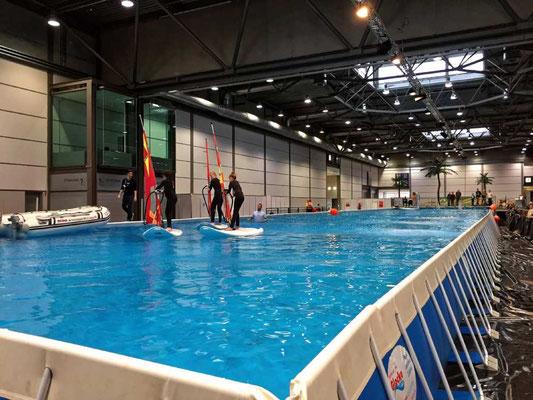 660.000 Liter Wasser bieten eine ganze Menge Platz für aktiven Wassersport