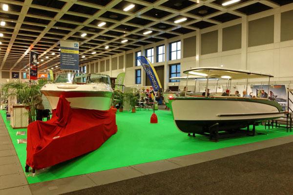 Interessenten alternativer Antriebstechnik waren auf dem E-Boot Salon richtig