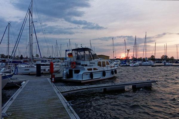 Der Hafen von Kröslin