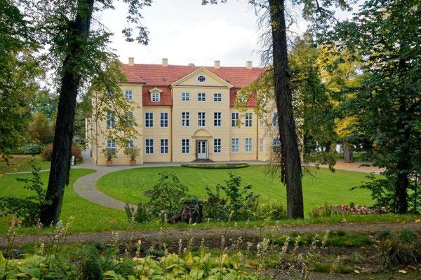 Das restaurierte Schloss in Mirow mit einer empfehlenswerten Ausstellung