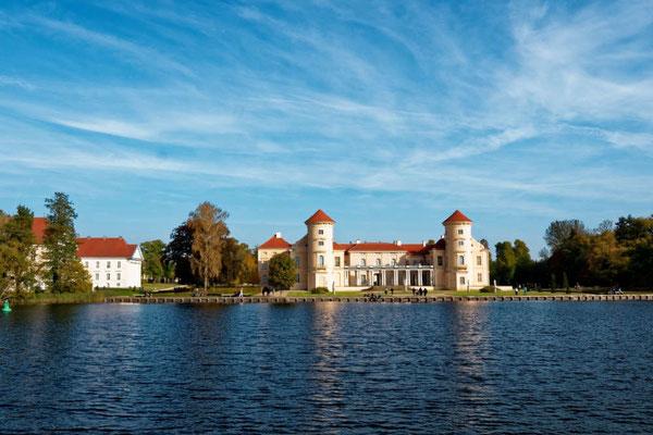 Highlight der Rheinsberger Gewässer ist das Schloss