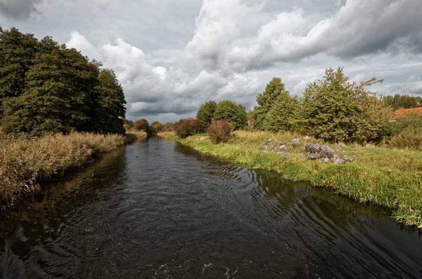 Der Kanal bei Niederfinow