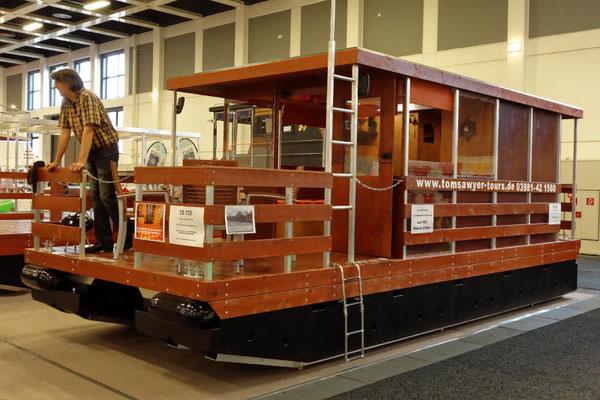 Etwas rustikaler geht es auf den Haus-Booten von Tom Sawyer Tours zu