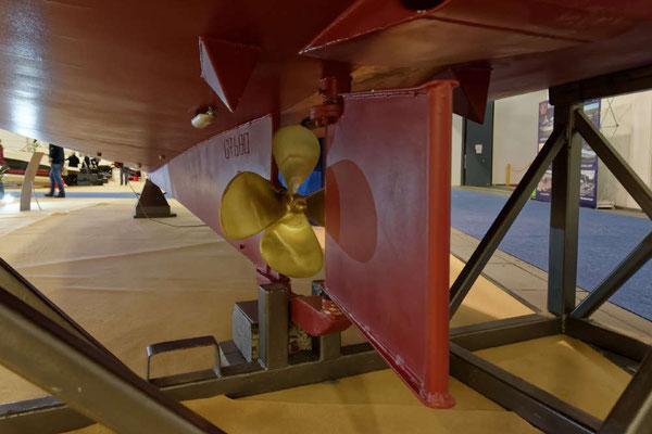 Interessant auch der Blick nach ganz unten, der beim Seepferdchen sehr massiv und stabil ausfällt