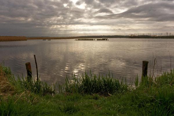 Renaturierte Seegebiete bei der Aalbude