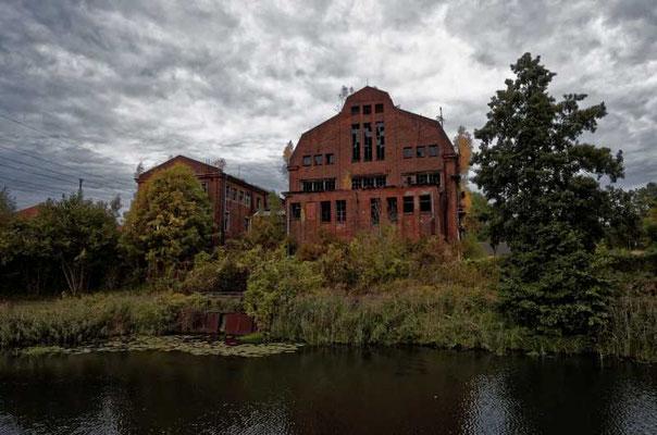 Das alte Kraftwerk Heegermühle