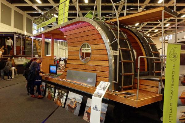 Nautilus Haus-Boote sind inzwischen schon eine Marke für außergewöhnliches Design