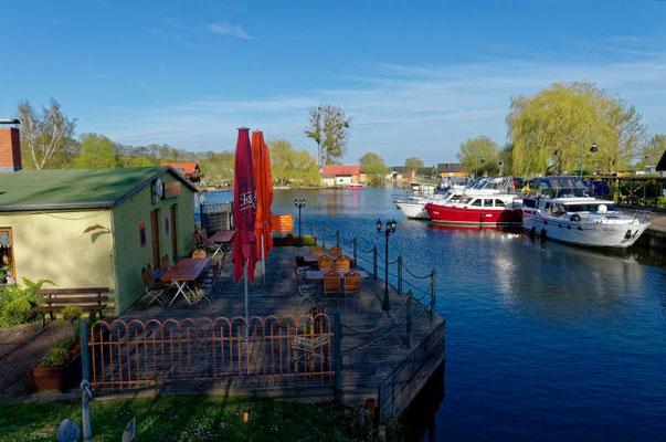 Ausgangshafen Neukalen am Kummerower See