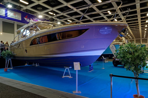 Aus dem oberen Preissegment: Eine Marex 375 für knapp eine halbe Million Euro