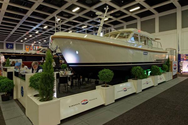 Ebenso Linssen Yachts, hier in der Ausführung einer Grand Sturdy 30