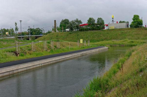 Die belebte Wasserstadt um den Hafen existiert derzeit nur in den virtuellen Projekten.