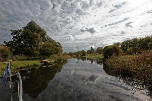 Der Vorteil im Herbst, die Wolken sind oft interessanter als im Sommer