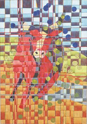 Der rote Stier | 70x100 | 2019