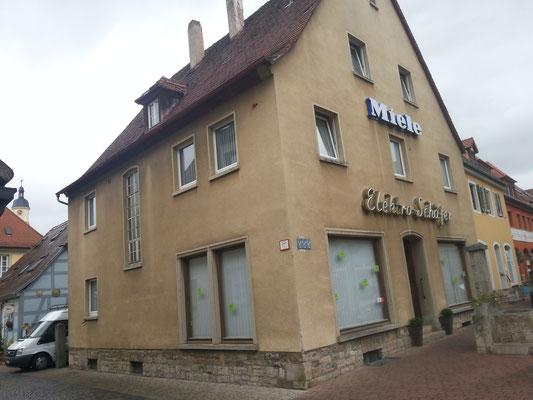 Friedrich-Ebert Str. 8 vor der Sanierung