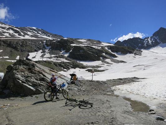 Zum Madritschjoch (Bike Wandern)