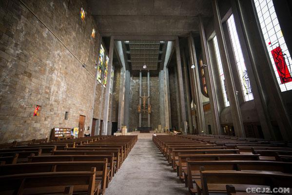 Intérieur Eglise Saint Louis Brest