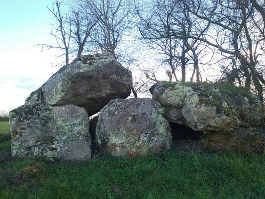 Dolmen dit La Pierre Couverte (Thizay)